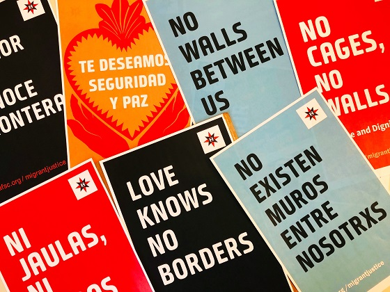 Love knows no borders posters