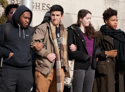young demonstrators