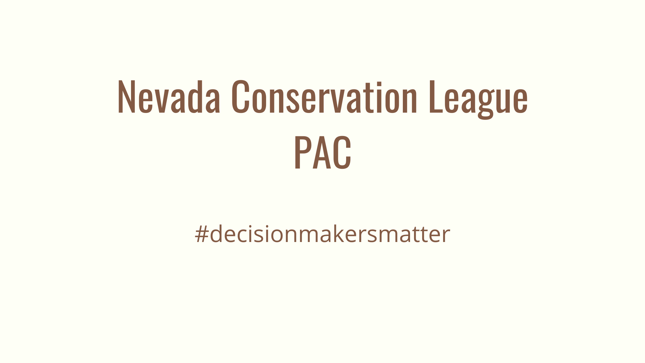 www.NevadaConservationLeague.org