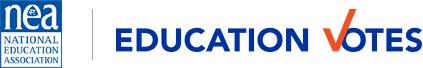 National Education Association - Education Votes Logo