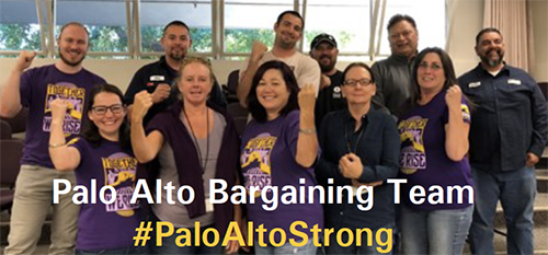 Palo Alto Bargaining Team