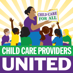 Child Care Providers United Logo