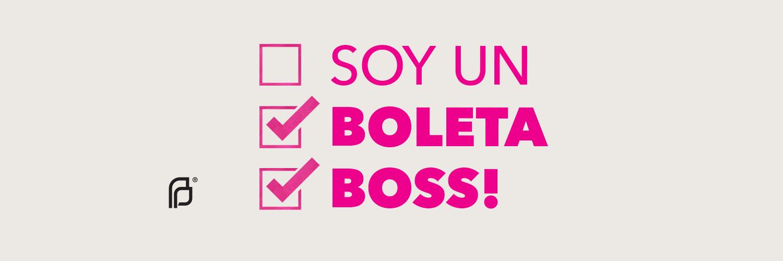 Son Un Boleta Boss!
