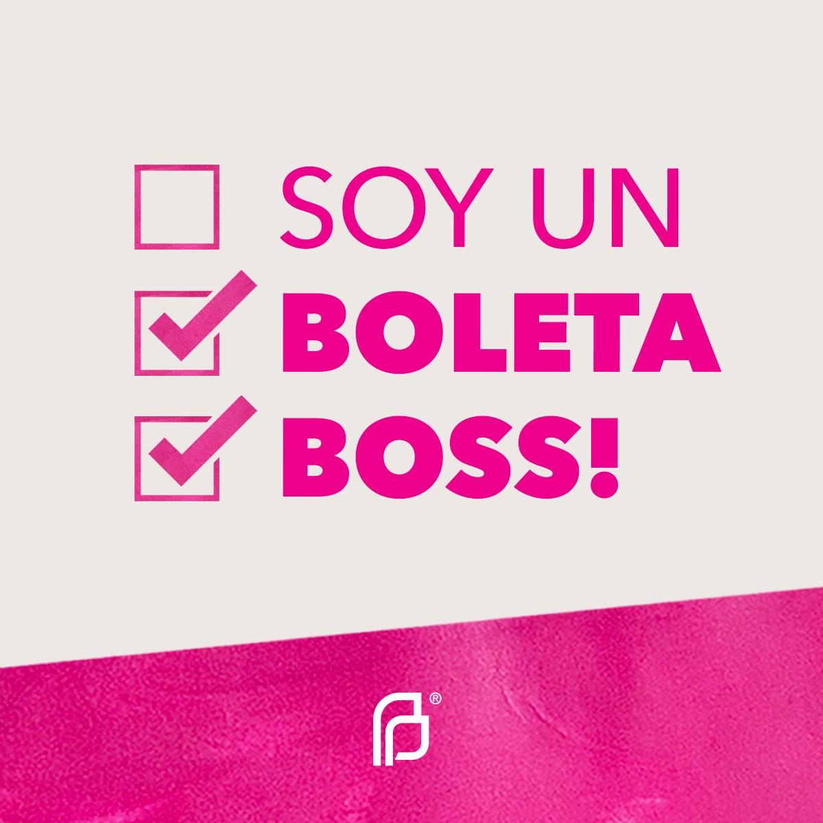 Soy Un Boleta Boss!