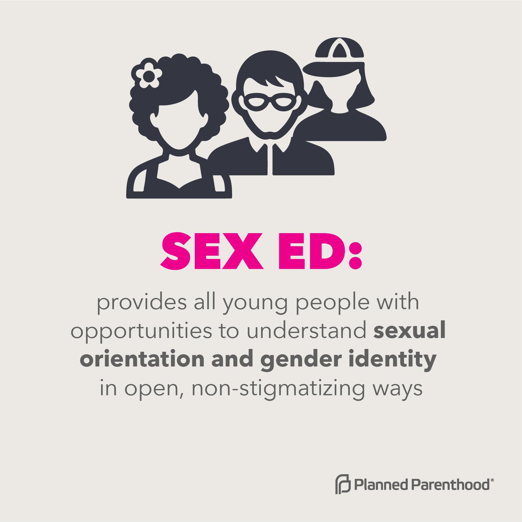 Sex ed: