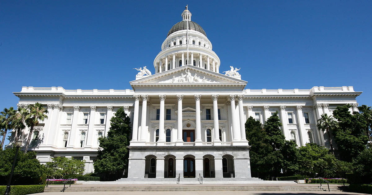 Caifornia State Capitol Building Images