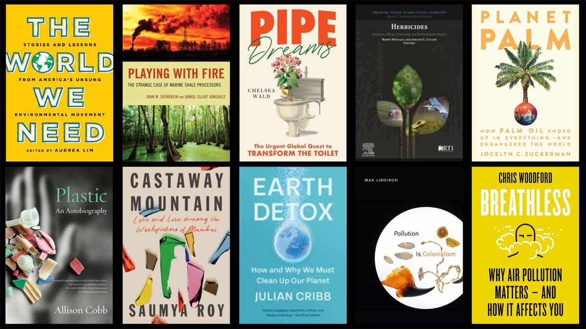 New books on pollution