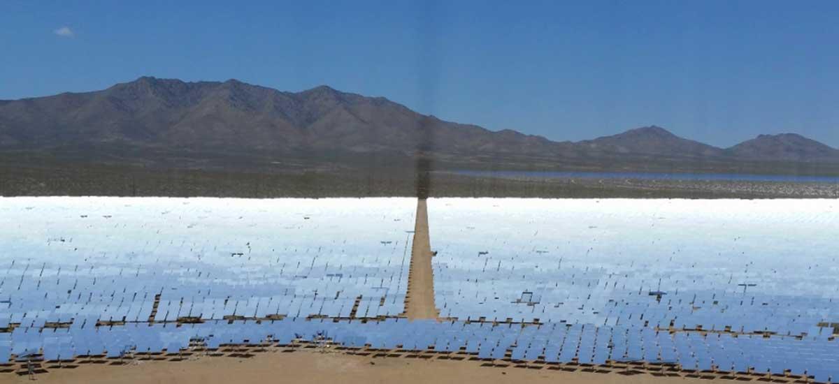 California solar plant