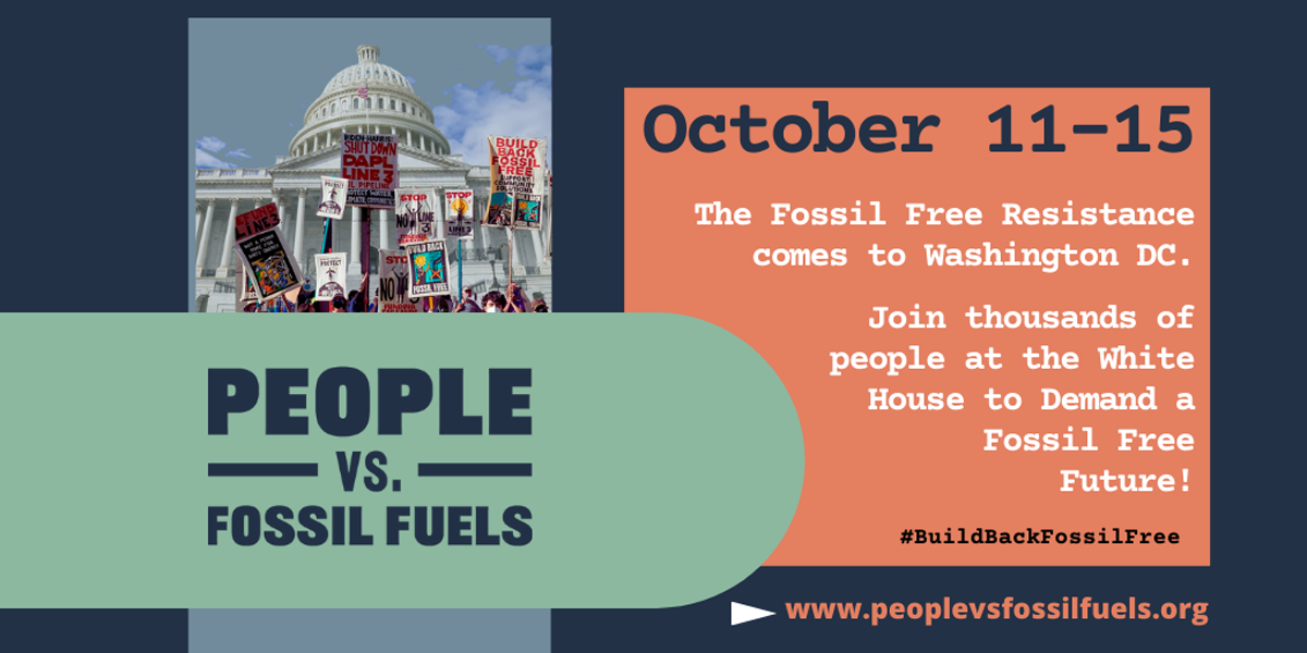 People vs. Fossil Fuels graphic