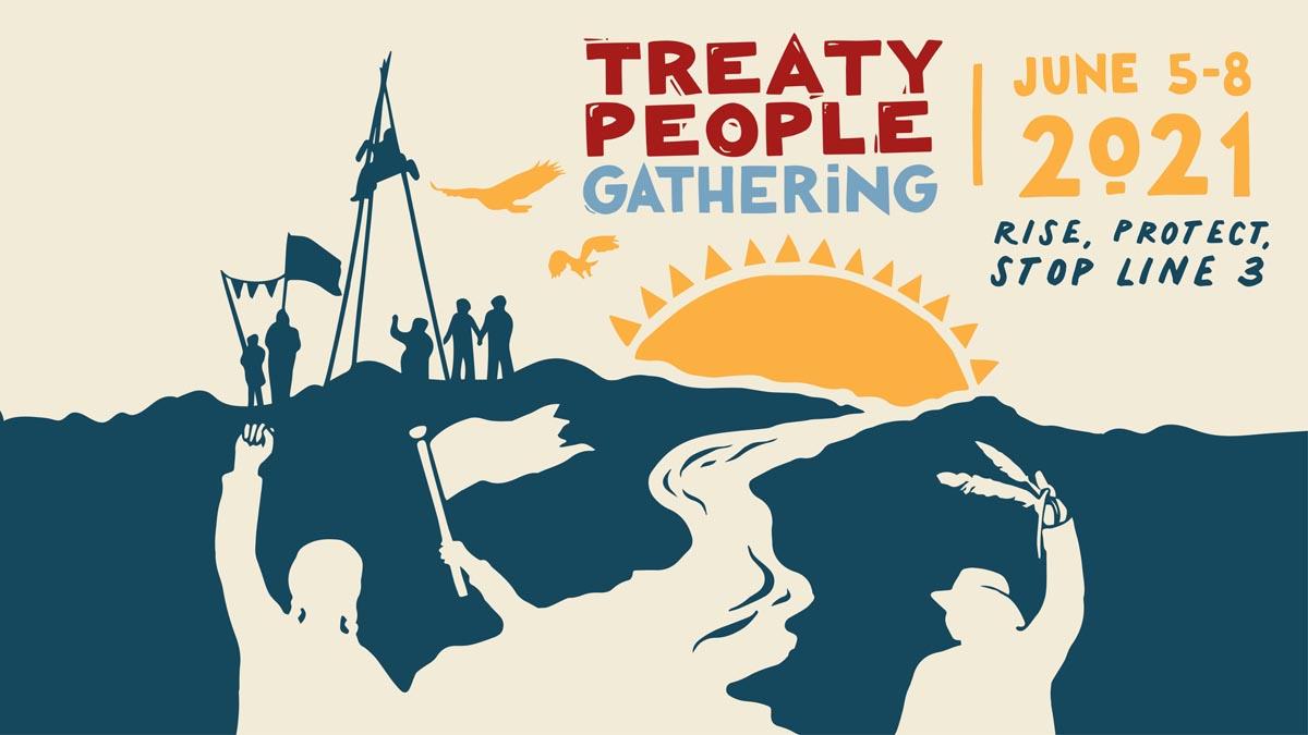Treaty People Gathering graphic