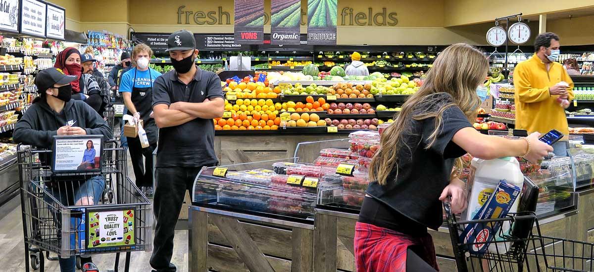 Shopping during coronavirus