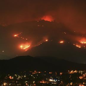 Harris Fire, San Diego