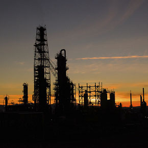 Utah oil refinery