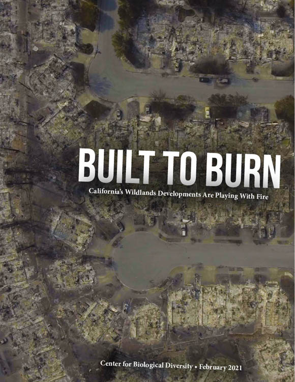 Built to Burn report cover