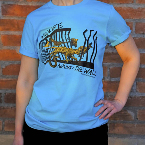 Wildlife Against the Wall T-shirt