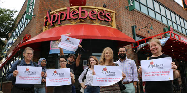 Applebee's protest