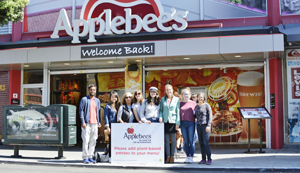 Applebee's campaign action