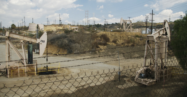 Los Angeles urban oil field