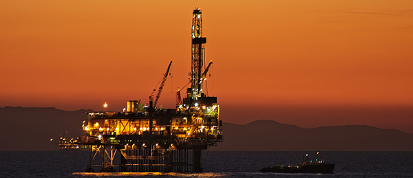 California offshore oil platform