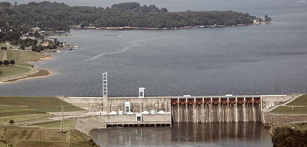 Duke Energy's Cowans Ford Dam