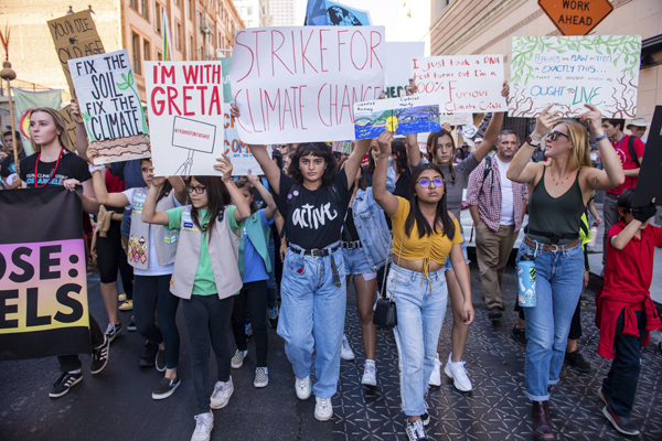 Los Angeles Youth Climate Strike
