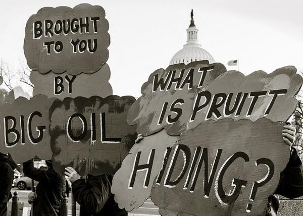 Protest against Scott Pruitt