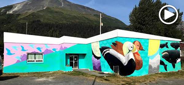 Seward Endangered Species Mural