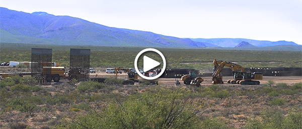 Arizona border wall construction