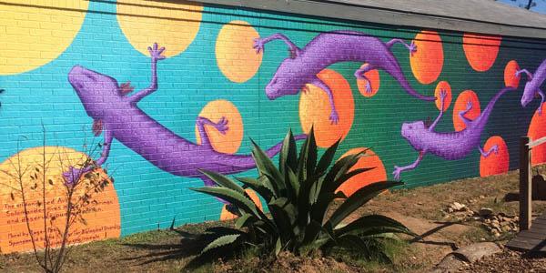 Endangered species mural