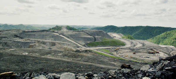 Mountaintop-removal mining