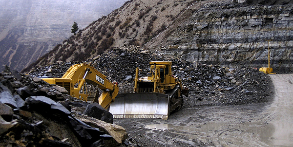 Oil-shale mining