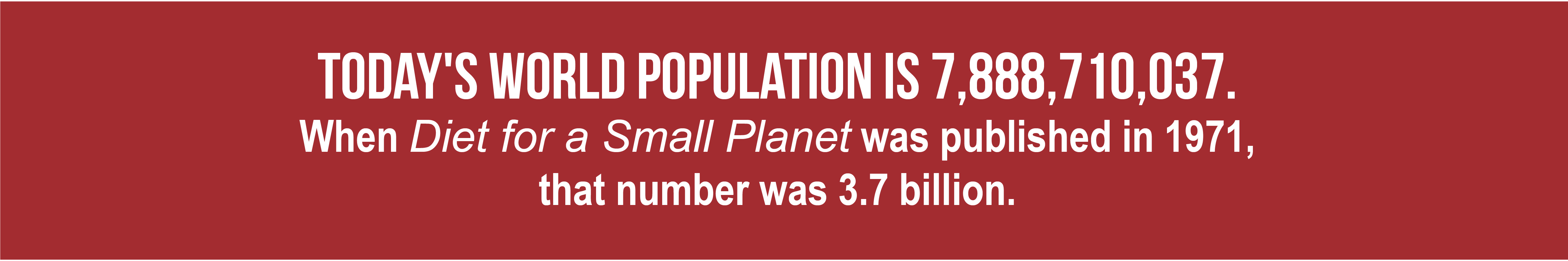 Today's world population is 7,888,710,037.