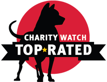 Charity Watch Top-Rated Badge