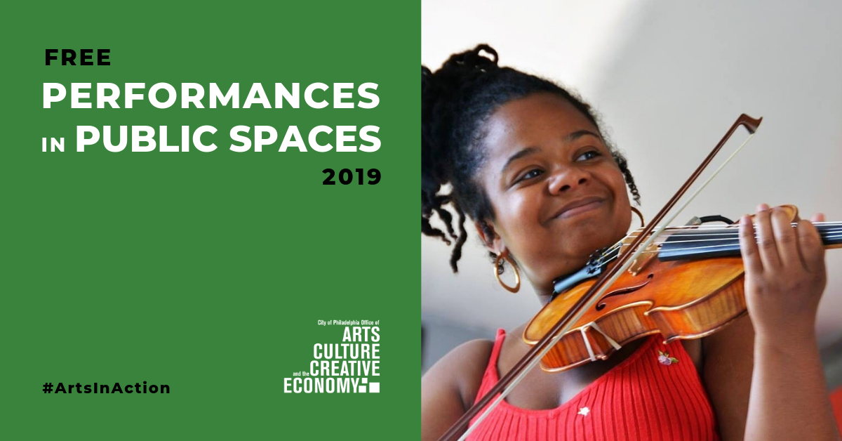 See more free Performances in Public Spaces!