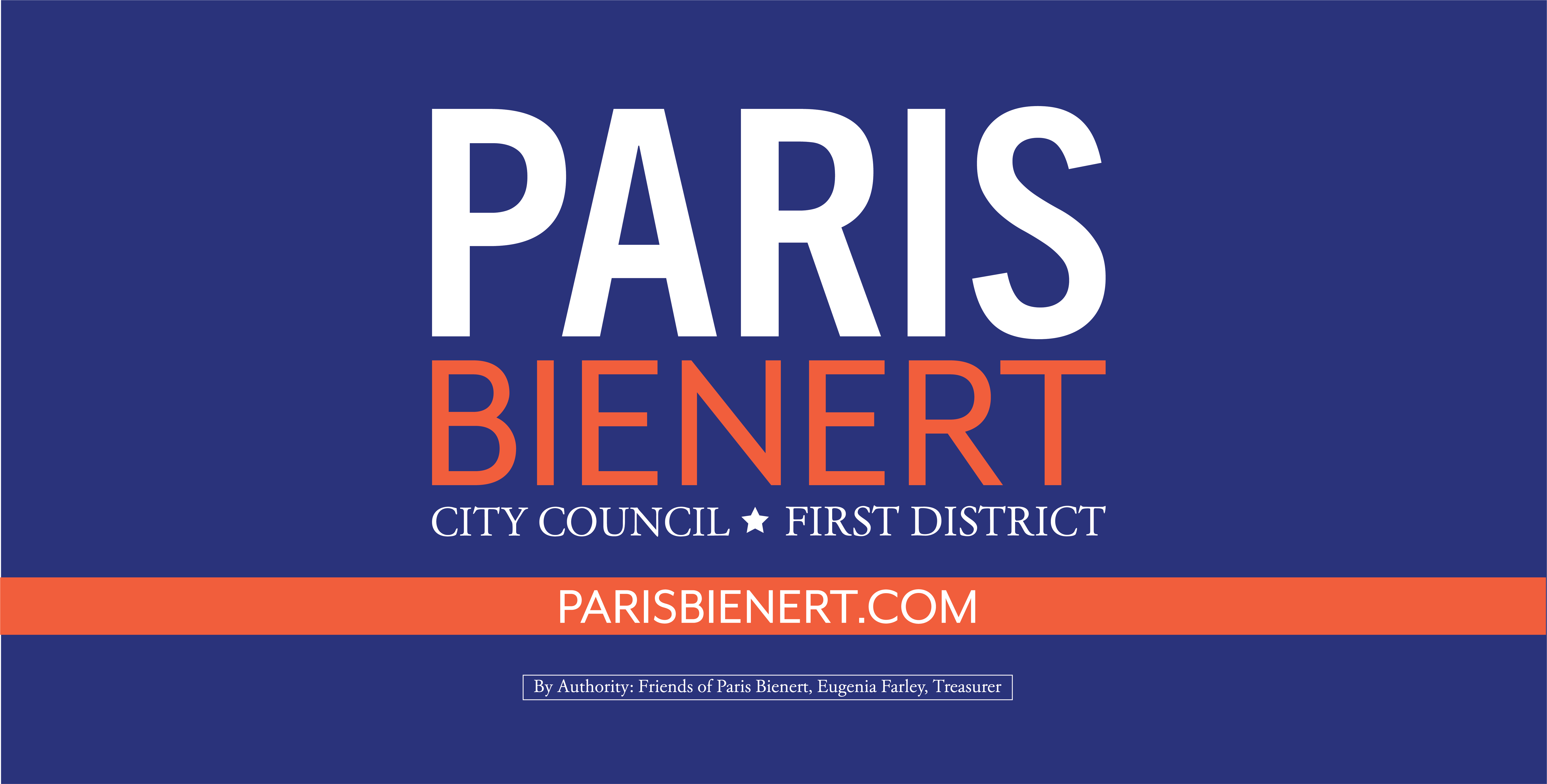 Paris Bienert for City Council