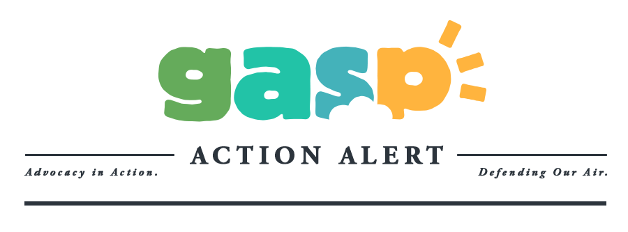 Gasp | Clean Air. Healthy Communities.