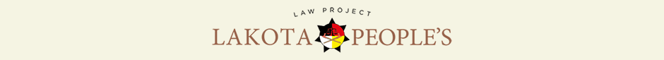 Lakota People's Law Project Homepage
