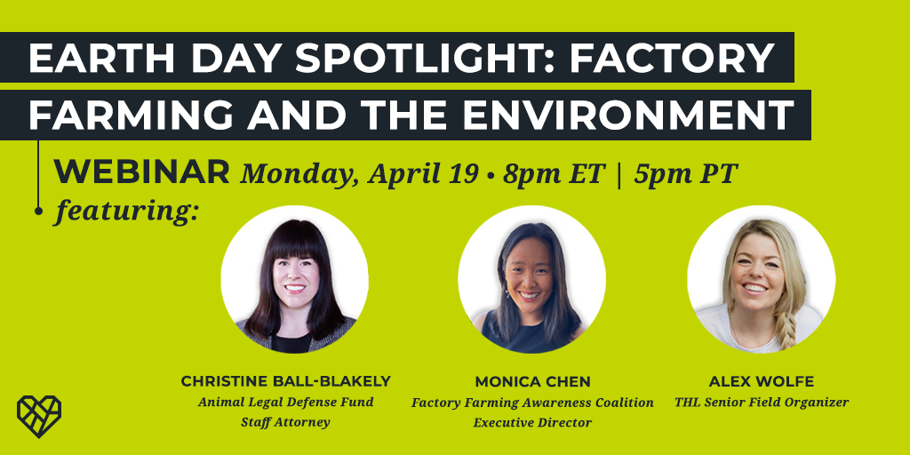 Earth Day Spotlight: Factory Farming and the Environment