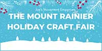 Mount Rainier Holiday Craft Fair logo