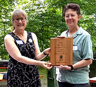 Nancy Meyer receives Prince George's Sierra Club Environmental Service Award