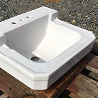 Vintage 1951 Richmond Bath Sink