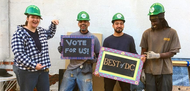 Vote for Community Forklift, Best of DC Goods & Services, Best Green Business