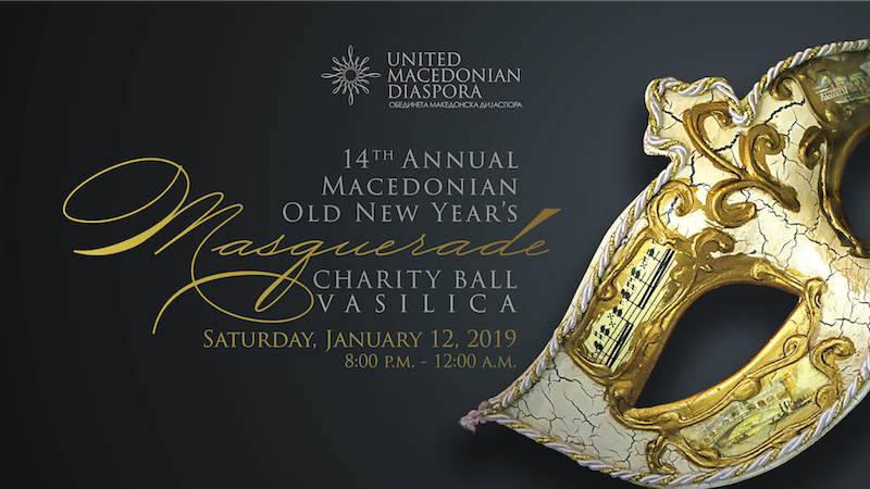 14th annual macedonian old new years masquerade charity ball