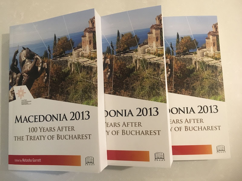 Purchase Your Copy of Macedonia 2013: 100 Years After the