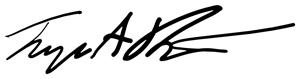Tremayne Signature