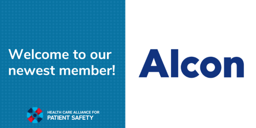 Welcome to our newest member, Alcon