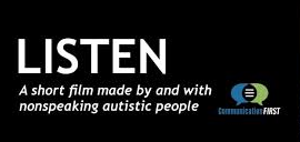 the title screen for the film listen