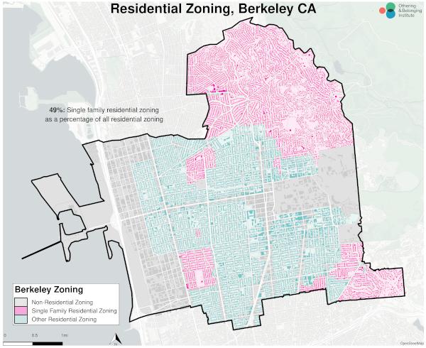 single family zoning map of berkeley