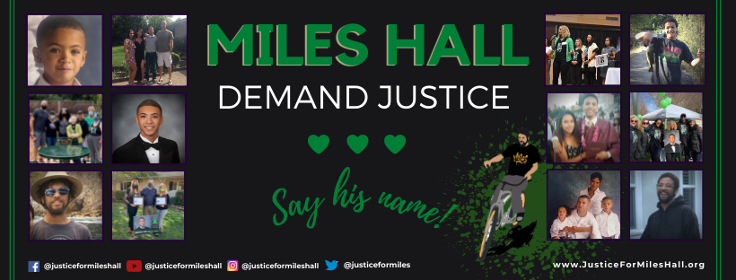 Justice for Miles Hall