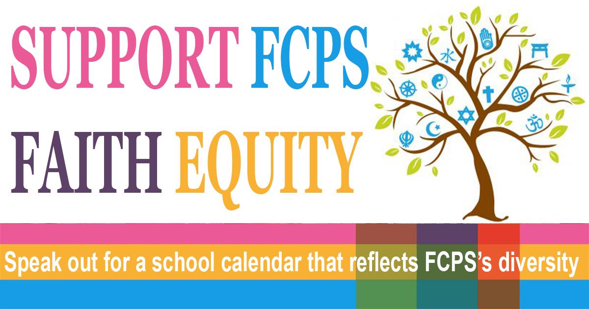 Fcps Calendar 2022.Support Fcps School Closures On Days Coinciding With Diwali Eid Rosh Hashanah And Yom Kippur